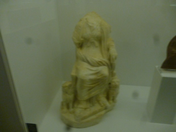 (pic - Story) Hellenic Museum - Enthroned Cymbeline