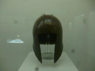 (pic - Story) Hellenic Musuem - Bronze Helmet