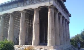 Temple of Hephaestos in Athens
