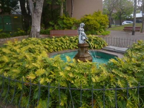 (pic - Story) Paddington - Garden Fountain