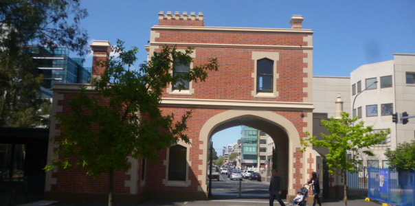 (pic - Story) Parramatta - Park Gate Behind