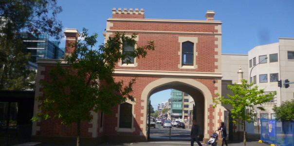 (pic - Story) Parramatta - Park Gate Behind