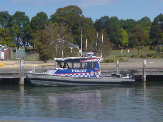 (pic - Story) Parramatta - River Police Launch