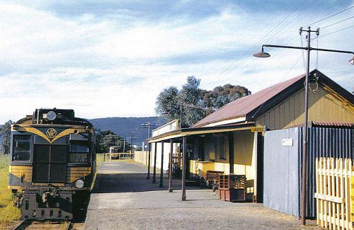(pic - Story) Whittlesea - Railway Station