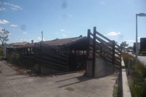 (pic - Story) Whittlesea - Stock Yards