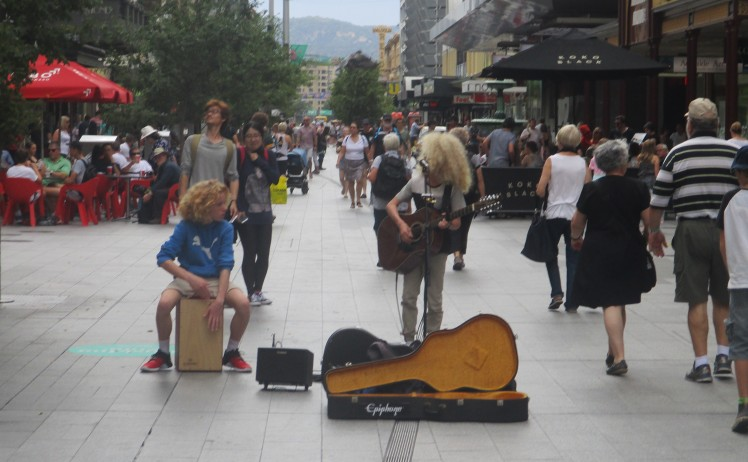 (pic - Story) Fringe 2017 - Buskers