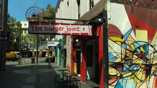 (pic - Story) Kings Cross - Burger Joint