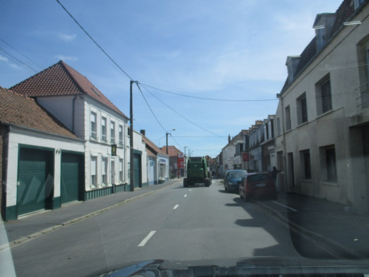 (pic - story) on the right side - french village