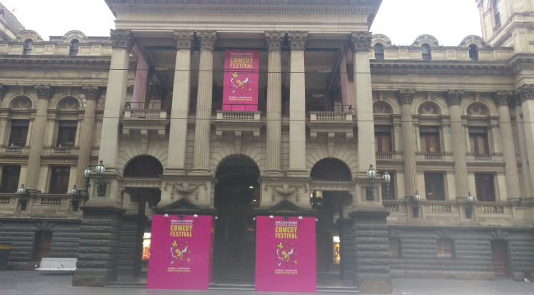 (pic - Story) Comedy Festival - Town Hall
