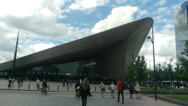 (pic - Story) Rotterdam - Centraal Station