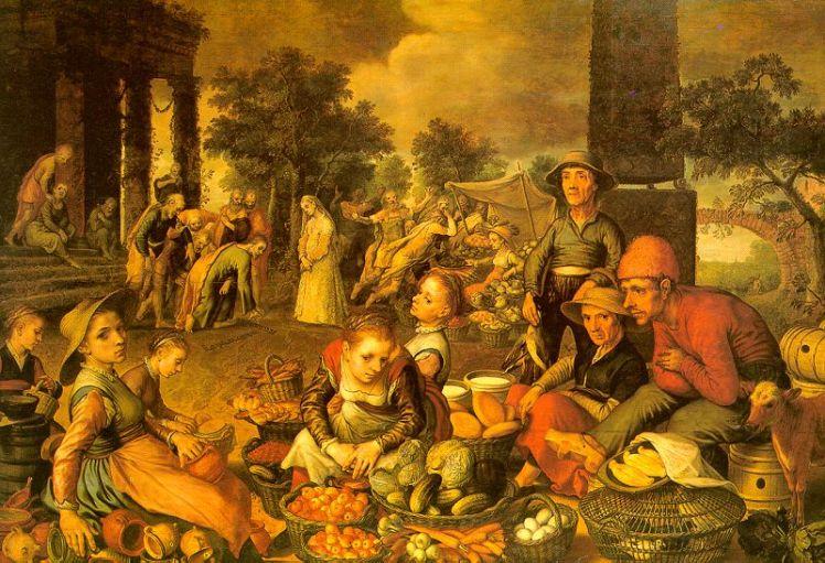 (pic - Story) Staedel Art 4 - Market Scene