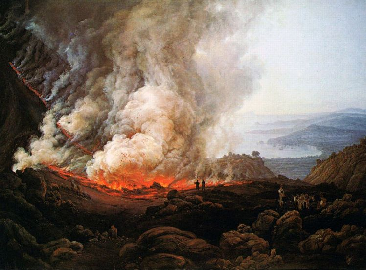 (pic - Story) Staedel Art 4 - Vesuvius