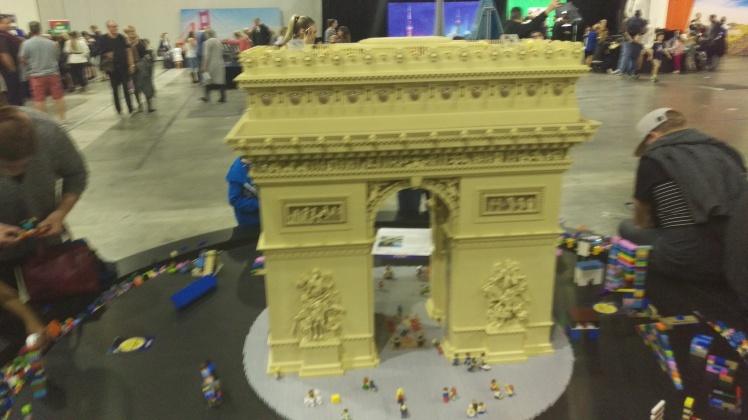 (pic - Story) Lego - Arc de Triumph