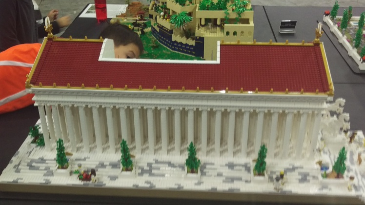 (pic - Story) Lego - Temple of Artemis