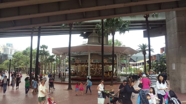 (pic - Story) Darling Harbour - Merry Go Round