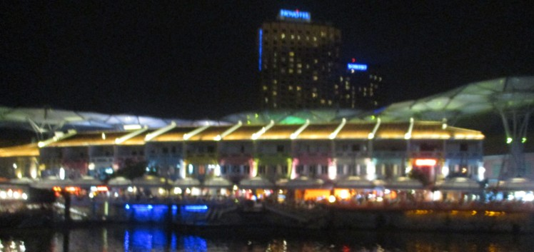 (pic - Story) Clarke Quay - At Night