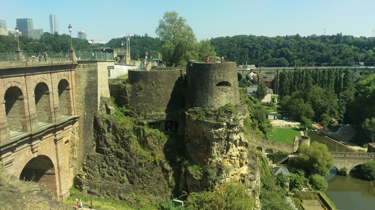 (pic - Story) Fortress Luxembourg - Casemates