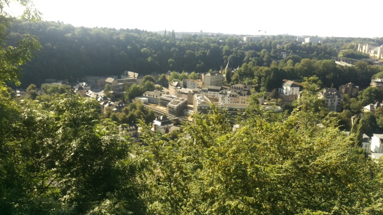(pic - Story) Fortress Luxembourg - View