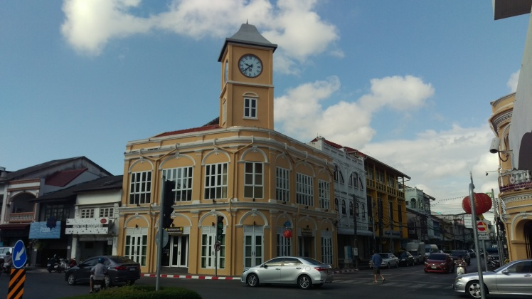 (pic - Story) Old Town - Clock