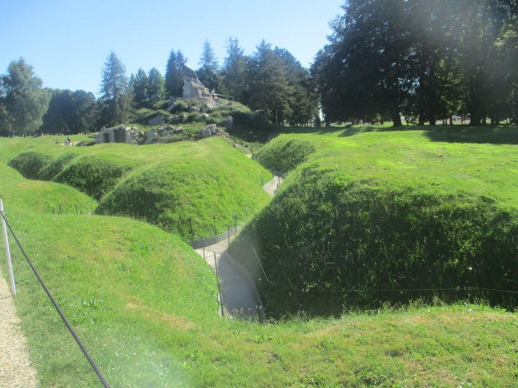 (pic - Story) Western Front Museum - Beaumont-Hammel Trench