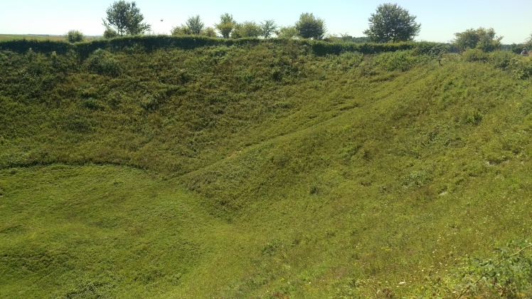 (pic - Story) Western Front Museum - Loch Nag Crater