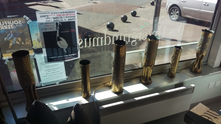 (pic - Story) Western Front Museum - Trench Art