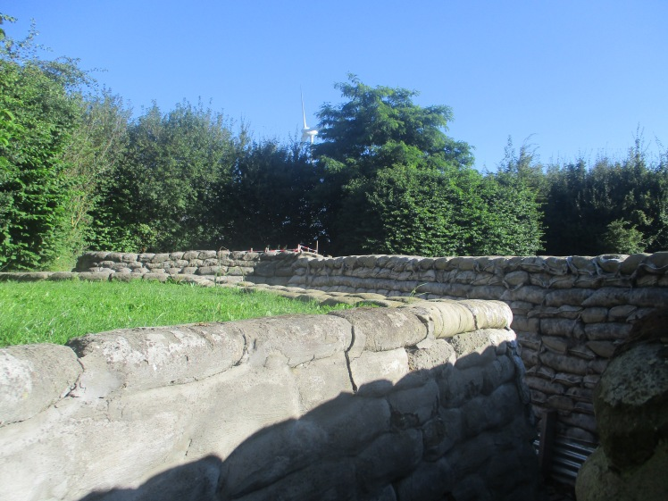 (pic - Story) Western Front Museum - Yorkshire Trenches