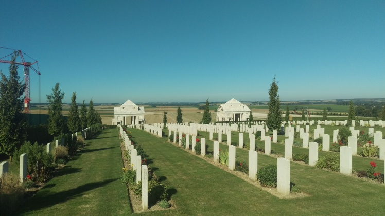 (pic - Story) Western Front Museum - Graveyard