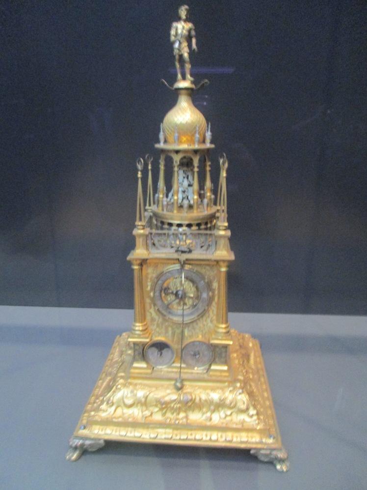 (pic - art) ledertz - table clock in shape of a tower