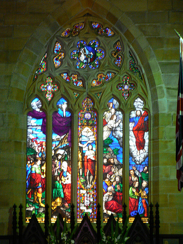 (pic - story) garrison church - window