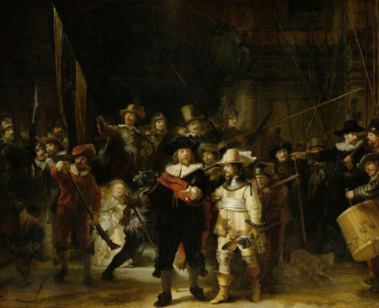 (pic - story) rijksmuseum 4 - night's watch