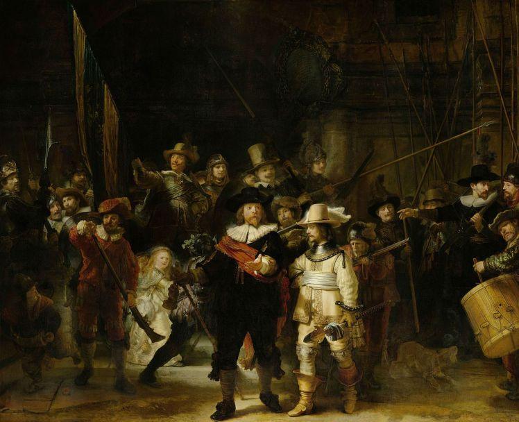 (pic - story) rijksmuseum 4 - night's watch