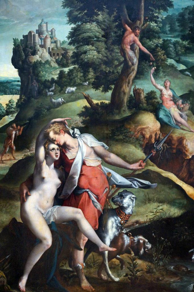 (pic - story) rijksmuseum 4 - venus & adonis