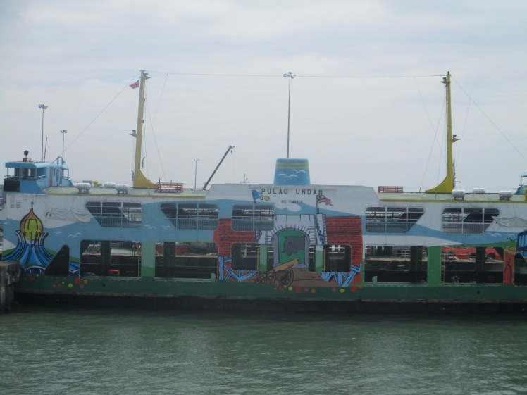 (pic - Story) Penang - Ferry