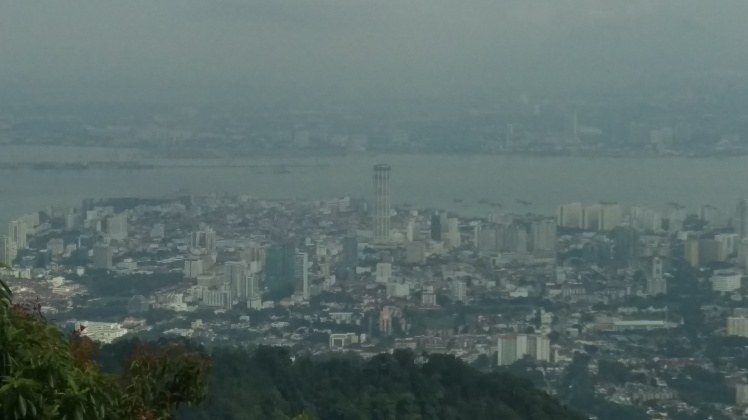 (pic - Story) Penang - View from the Hill