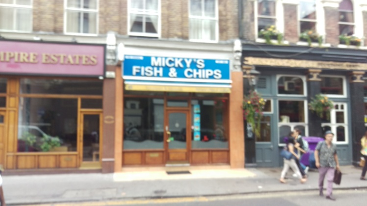 (pic - Story) London - Fish & Chips