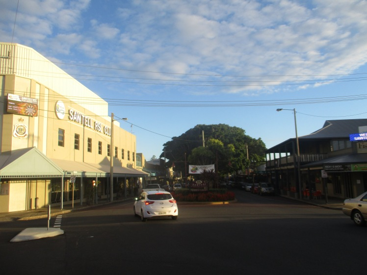 (pic - Story) Coffs Harbour - Sawtell Main Street
