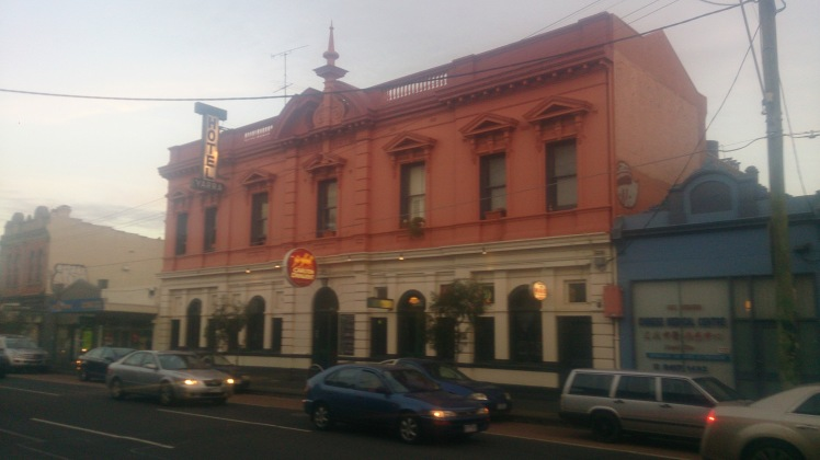 (pic - Story) Abbotsford - Yarra Hotel