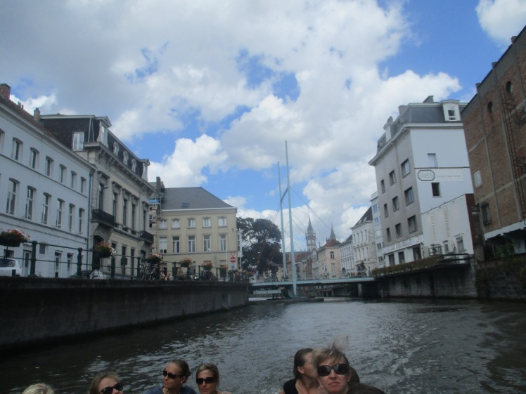 (pic - Story) Ghent - Boat Cruise