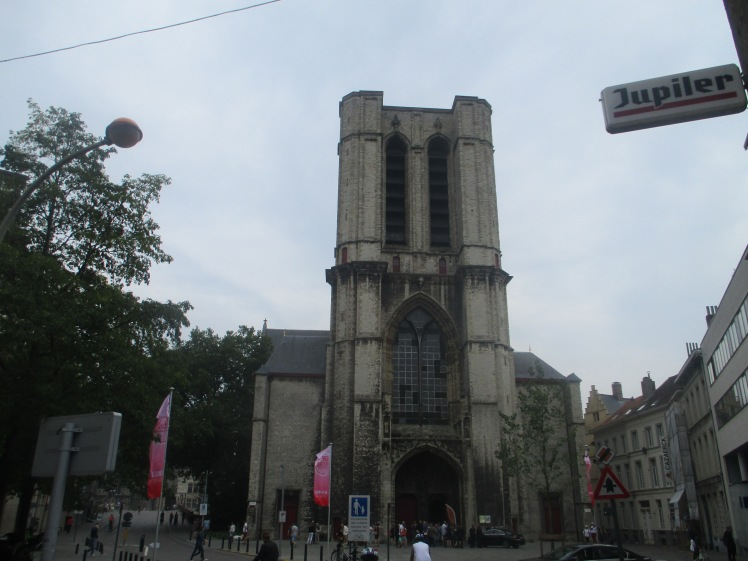 (pic - Story) Ghent - St Mikelskerk